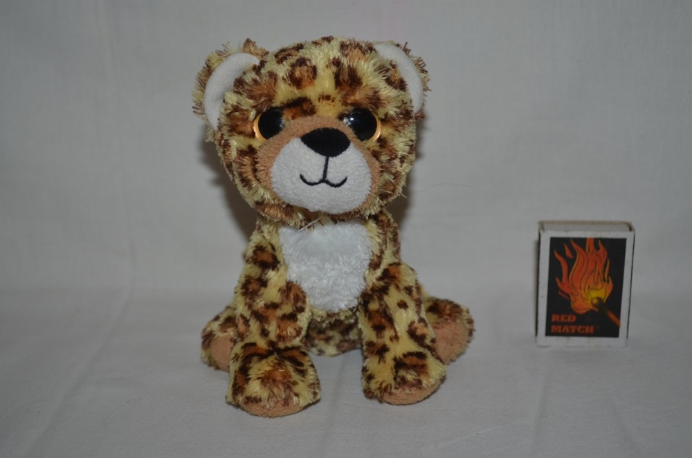 Ty фирменный гепард леопард глазастик лупастик фото №1