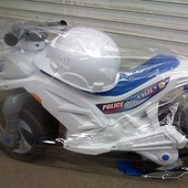 "Мотоцикл 501B ""Orion"" (в комплекте каска, белого цвета)"