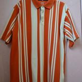 Фирменная футболка поло тенниска спортивная Globe Trotter оригинал 42/14/XL