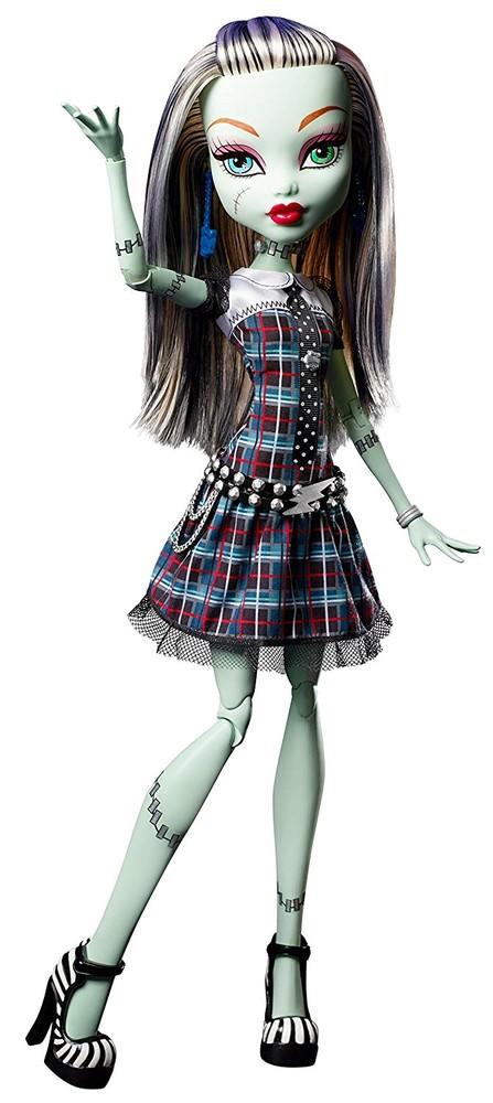 Кукла монстр хай френки штейн monster high frightfully tall ghouls фото №1