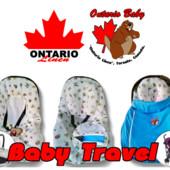 Конверт-трансформер Baby Travel Premium (весна-лето-осень)