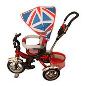 Колеса Надувные поворот сиденья Трехколесный велосипед Britanica. M 3114-2A.