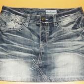 Классная джинсовая юбка раз.34-36 ,xs-s.