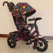 Тили Трайк T-363 надувные колеса велосипед трехколесный Tilly Trike детский