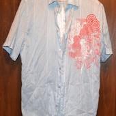 Летняя тенниска, рубашка размер 48-50