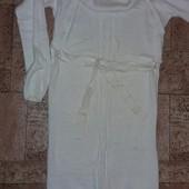 Платье- туника вязаное