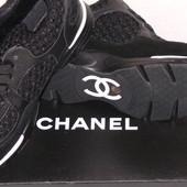 Chanel модные женские крассовки от дизайнеров Шанель