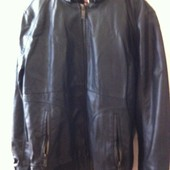 Мужская кожаная куртка, супер качество! L, торг!