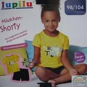 Комплект шорты+футболка Lupilu Германия р.98-104