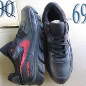 Распродажа -25%! Кроссовки Nike air max из натуральной кожи, 2 цвета