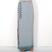 Длинная юбка из вискозы с этно-принтом