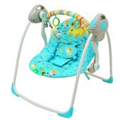 Качели Бемби 32006 с электроприводом Bambi детская музыкальная качель шезлонг