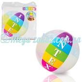 Мяч надувной с логотипом Intex 59060: 91 см