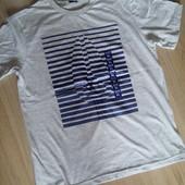 Новая мужская футболка bario p.XL