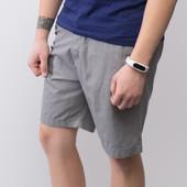 Летняя распродажа мужских коттоновых шортов, серые.