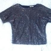 Шикарная блуза с пайетками Oasis.