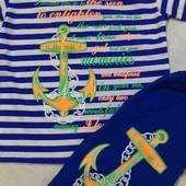 комплект летний футболка и бриджи