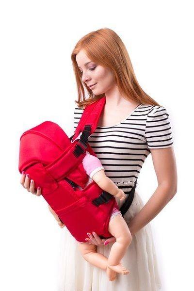 Кенгуру-переноска для малышей, Умка №8, 3 положения, цвета в ассортименте фото №1