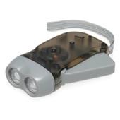 Динамо-фонарик 2 LED