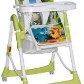 Детский стульчик для кормления Bertoni Primo (green jungle)