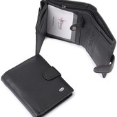 Мужской кожаный кошелек портмоне правник Dr.Bond натуральная кожа