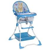 Надежный стульчик для кормления Bertoni Bravo Blue Bunny