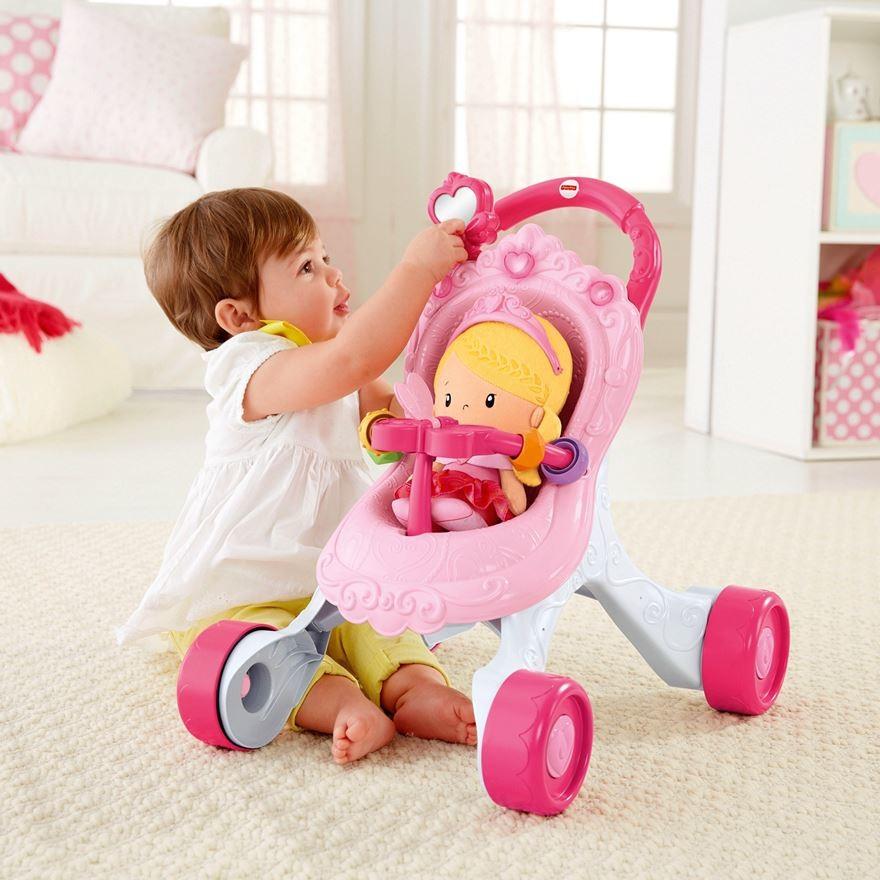Игрушка мягкая кукла принцесса, fisher price фото №1