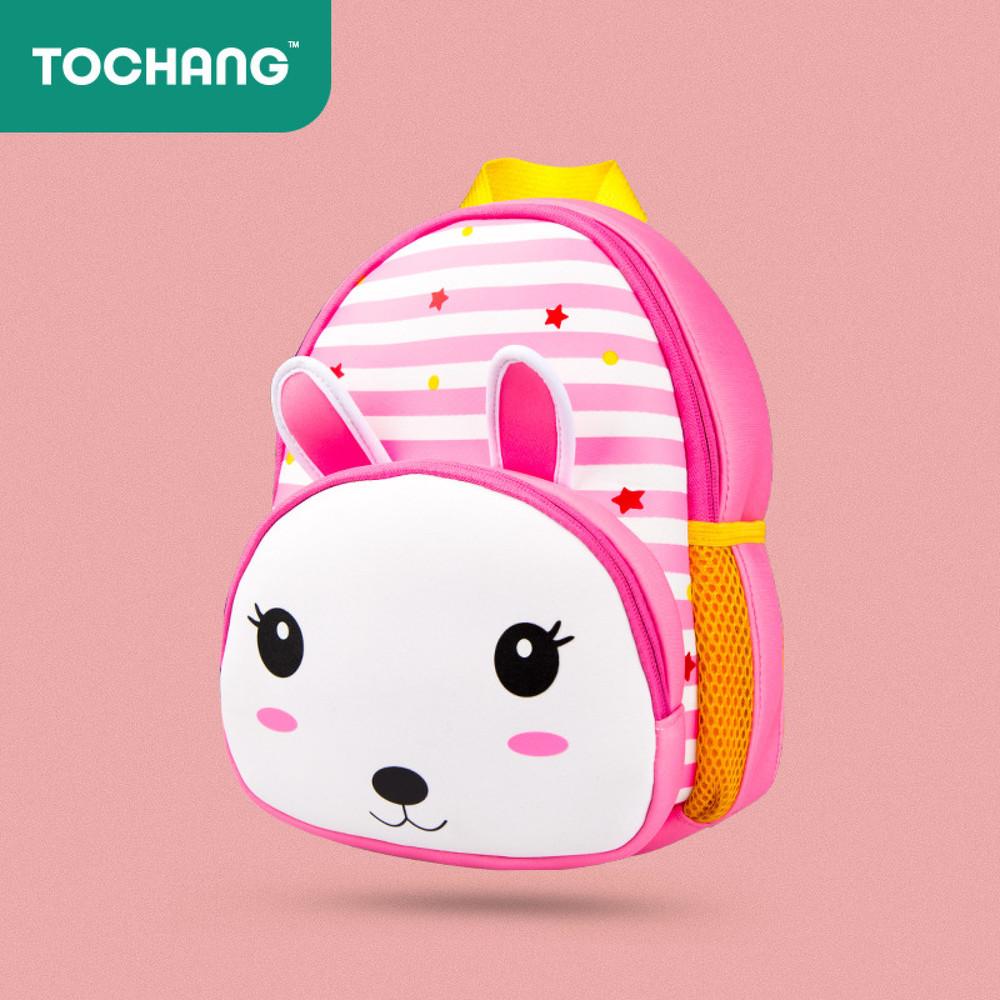 Рюкзак детский. зайчик. для девочки. непромокаемый, легкий, вместительный.  фото №1