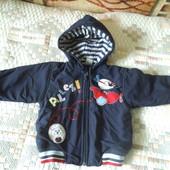 Демисезонная курточка 9-12 месяцев