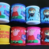 Чашки детские с мультяшками
