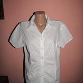 рубашка,блуза р-р 14 сост новой His