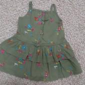 Платье 68 -74 р