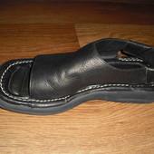 Мужские кожаные сандалии Zeus Италия р. 40 стелька 26 см