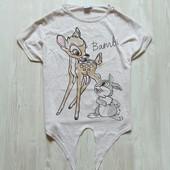 Стильная футболка для девочки или мамы. Внизу завязывается. Y.D. Размер 12-13 лет