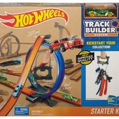 Mattel Переносной трек Hot Wheels track builder Игра без границ, dgd29