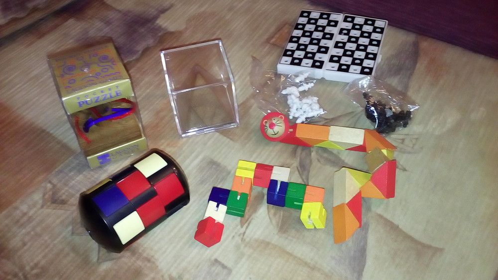 Шашки головоломки кубик рубик фото №1