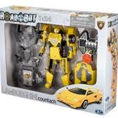 Распродажа - Робот-трансформер  Lamborghini Countach 1:24 от Roadbot