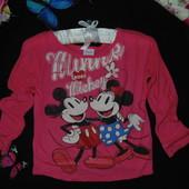 5-6л(110-116см)Реглан Disney.Мега выбор обуви и одежды!