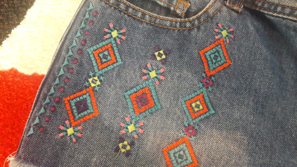 Модные шорты на 10-11 лет фото №1