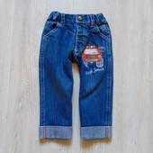 Стильные джинсы для модника. Джинс плотный. Bayside. Размер 6-12 месяцев. Состояние: идеальное