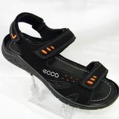 Распродажа !!! Ecco model ( E-4) чёрные !!! Натуральный нубук !!!