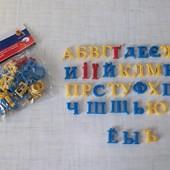 Магнитный буквы украинский, русский алфавит