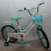 Кросер Русалка 16 20 велосипед детский Crosser Mermaid двухколесный девочки