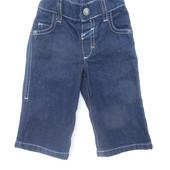 Джинсы джинсовые штаны на 3-6 мес.