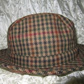 Шляпа из твида шерсть Golding Англия