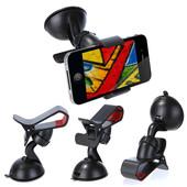 Универсальный держатель-прищепка для телефона или навигатора в машину