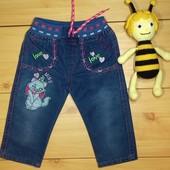 Детские джинсы для девочки рр. 62-92 Beebaby (Бибеби)