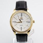 Стильные мужские часы с черным ремешком