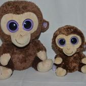 TY фирменный Милейшая мартышка обезьянка глазастик маленький и большой семья
