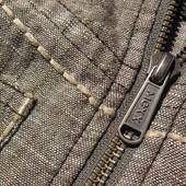Mexx Jeans. Льняная джинсовая куртка пиджак.